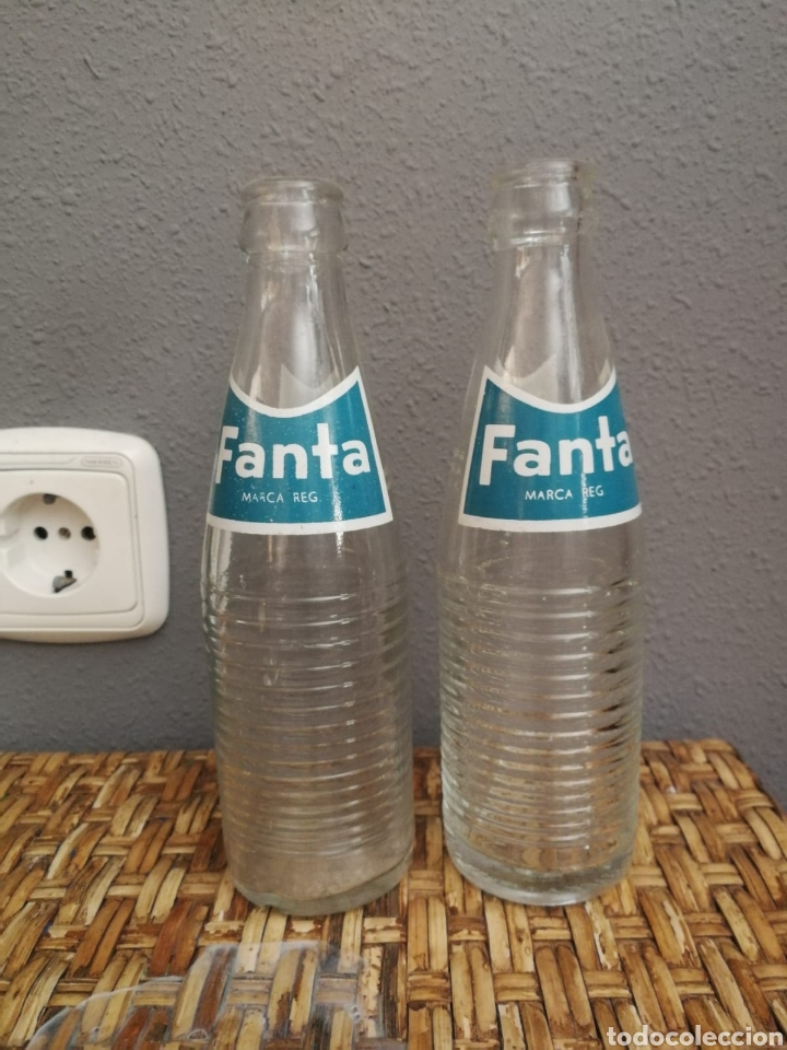 BOTELLIN DE FANTA ANTIGUO (Coleccionismo - Botellas y Bebidas - Coca-Cola y Pepsi)