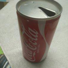 Coleccionismo de Coca-Cola y Pepsi: LATA COCA-COLA AÑOS 70 (VACÍA) HECHA EN ACERO. Lote 169042656