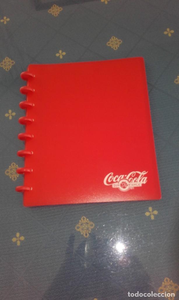 ALBUM PORTA FOTOS COCA COLA (22 X 18 CMS) (Coleccionismo - Botellas y Bebidas - Coca-Cola y Pepsi)