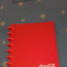 Coleccionismo de Coca-Cola y Pepsi: ALBUM PORTA FOTOS COCA COLA (22 X 18 CMS). Lote 169065672