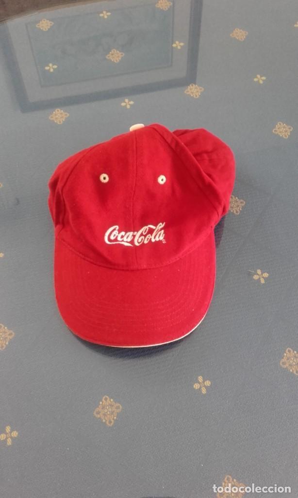 GORRA ROJA COCA COLA (Coleccionismo - Botellas y Bebidas - Coca-Cola y Pepsi)