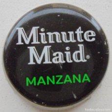 Collectionnisme de Coca-Cola et Pepsi: CHAPA ZUMO MINUTE MAID MANZANA -SPAIN- KRONKORKEN TAPPI FABRICANTE -CP-. Lote 169486388