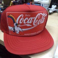 Coleccionismo de Coca-Cola y Pepsi: GORRA CURRO, COCA COLA, EXPO 92.OFICIAL.AÑO 1986.. Lote 193875832