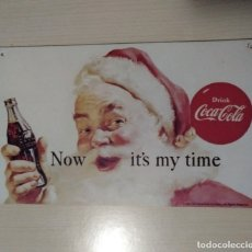 Coleccionismo de Coca-Cola y Pepsi: ANTIGUO CARTEL PUBLICITARIO 1991 COCA COLA NAVIDAD RARO. Lote 169938556