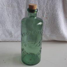 Coleccionismo de Coca-Cola y Pepsi: (SEVILLA) BOTELLA CRISTAL COCACOLA. COCA COLA. Lote 170515642