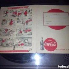 Coleccionismo de Coca-Cola y Pepsi: CUADERNO COMIC COCA COLA DELICIOSA Y REFRESCANTE AÑOS 50-60. Lote 170964213