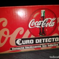 Coleccionismo de Coca-Cola y Pepsi: COCA-COLA EURO DETECTOR. Lote 171787972