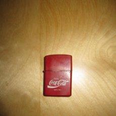 Coleccionismo de Coca-Cola y Pepsi: ANTIGUO MECHERO TIPO ZIPPO PUBLICIDAD COCA COLA COCACOLA. Lote 171817288
