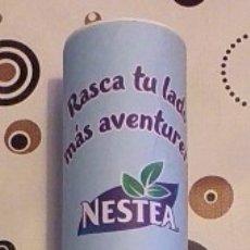 Coleccionismo de Coca-Cola y Pepsi: NESTEA. MAPAMUNDI AVENTURERO. RASCA TU LADO MÁS AVENTURERO. 60 X 42 CM. EN TUBO PROTECTOR. ORIGINAL.. Lote 172573870