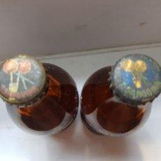 Coleccionismo de Coca-Cola y Pepsi: CHAPAS T.SANGUINA 2 MODELOS DISTINTOS. Lote 172904420