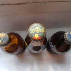 Coleccionismo de Coca-Cola y Pepsi: CHAPAS ANTIGUAS LIMONET Y T.SANGUINA SIN ABRIR. Lote 172904682