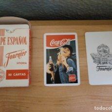 Coleccionismo de Coca-Cola y Pepsi: JUEGO DE CARTAS COCA-COLA- FOURNIER-. Lote 172955429