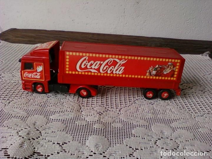 CAMIÒN ARTICULADO COCA COLA . ATLANTA FELIZ NAVIDAD (Coleccionismo - Botellas y Bebidas - Coca-Cola y Pepsi)