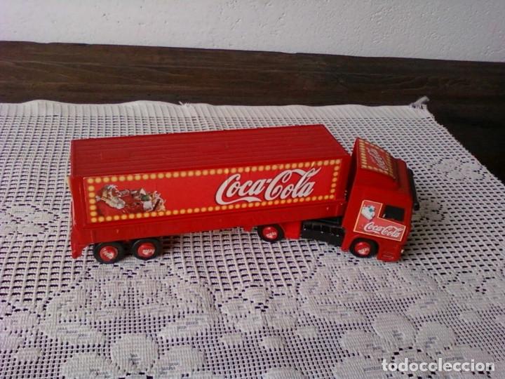 Coleccionismo de Coca-Cola y Pepsi: CAMIÒN ARTICULADO COCA COLA . ATLANTA FELIZ NAVIDAD - Foto 4 - 173502580