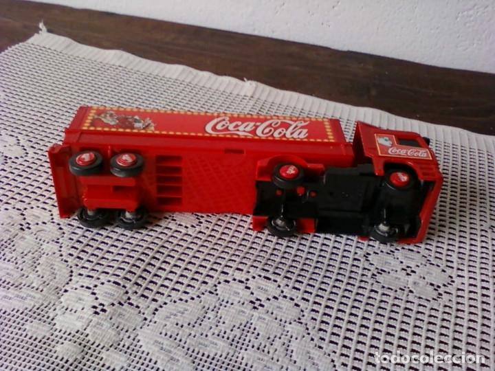 Coleccionismo de Coca-Cola y Pepsi: CAMIÒN ARTICULADO COCA COLA . ATLANTA FELIZ NAVIDAD - Foto 6 - 173502580