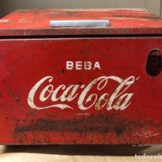 Coleccionismo de Coca-Cola y Pepsi: ANTIGUA NEVERA DE COCACOLA. MEDIDAS APROXIMADAS 59 X 40.5 X 59 CM.. Lote 173554589