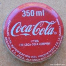 Coleccionismo de Coca-Cola y Pepsi: CHAPA REFRESCO COCA-COLA 350 ML -SPAIN- A CORUÑA CHAPA USADA. FABRICANTE -Z-. Lote 173594570