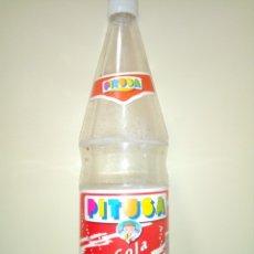 Coleccionismo de Coca-Cola y Pepsi: BOTELLA LA PITUSA COLA ETIQUETA. Lote 174017693