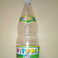 Coleccionismo de Coca-Cola y Pepsi: BOTELLA LA PITUSA LIMÓN ETIQUETA. Lote 174017809