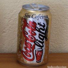 Coleccionismo de Coca-Cola y Pepsi: LATA COCA-COLA LIGHT SIN CAFEINA. CAN COKE BOTE VAS. Lote 174038688
