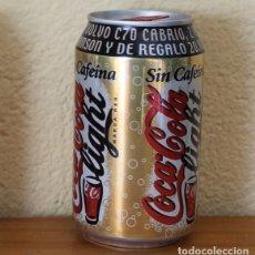 Coleccionismo de Coca-Cola y Pepsi: LATA COCA-COLA LIGHT SIN CAFEINA PROMO VOLVO C70. CAN COKE BOTE . Lote 174038760