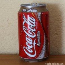 Coleccionismo de Coca-Cola y Pepsi: LATA COCA-COLA SIN CAFEINA. CAN COKE BOTE . Lote 174038833