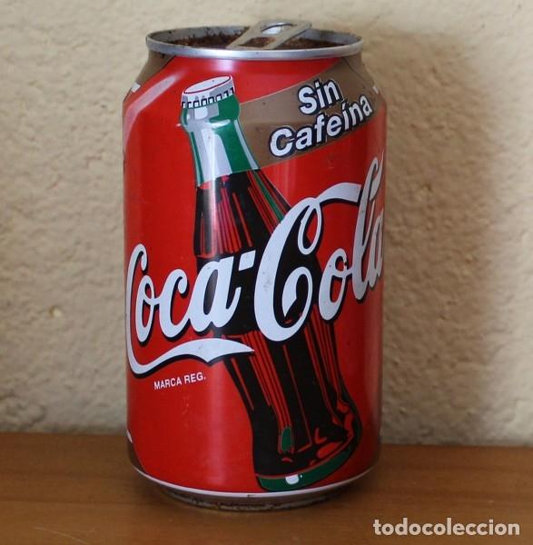 LATA COCA-COLA SIN CAFEINA. CAN COKE BOTE (Coleccionismo - Botellas y Bebidas - Coca-Cola y Pepsi)