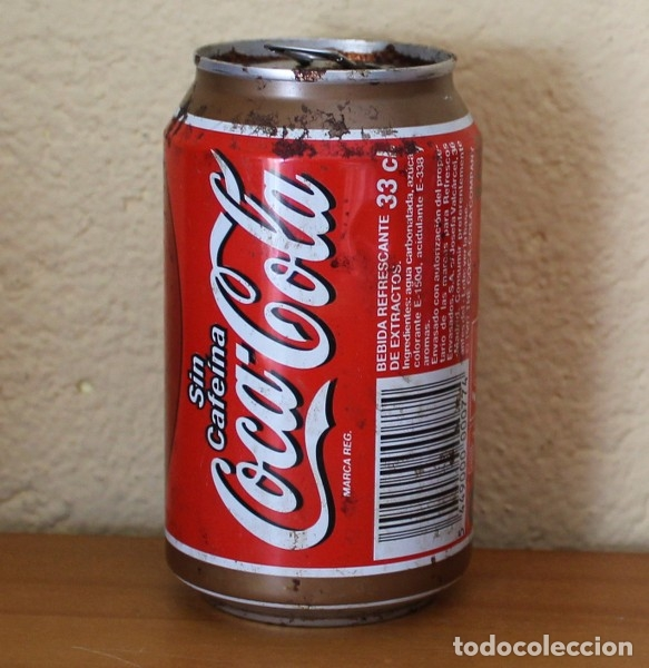 Coleccionismo de Coca-Cola y Pepsi: LATA COCA-COLA SIN CAFEINA. CAN COKE BOTE - Foto 2 - 174038908