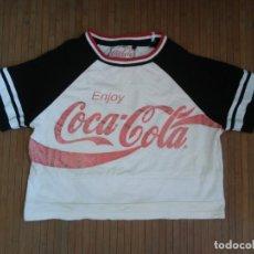 Coleccionismo de Coca-Cola y Pepsi: CAMISETA ENJOY COCA COLA LOGO BRILLANTE GLITTER T-SHIRT COCACOLA. Lote 174402502