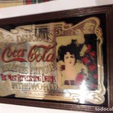 Coleccionismo de Coca-Cola y Pepsi: CUADRO ESPEJO PUBLICIDAD COCA COLA. Lote 175411444