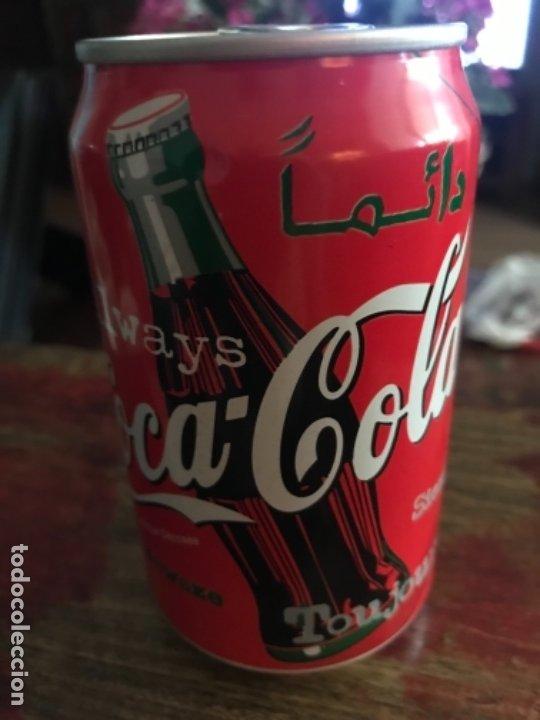 LATA COCA-COLA DE CASABLANCA (MARRUECOS). ÁRABE. SIN ABRIR. AÑO 1998 33 CL (Coleccionismo - Botellas y Bebidas - Coca-Cola y Pepsi)