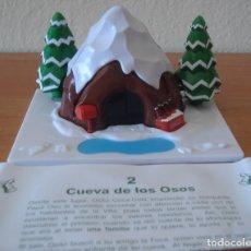 Coleccionismo de Coca-Cola y Pepsi: CASITA DE COCA COLA. CUEVA DE LOS OSOS. TIPO MONTAPLEX. NAVIDAD DE COCA COLA.. Lote 175925858