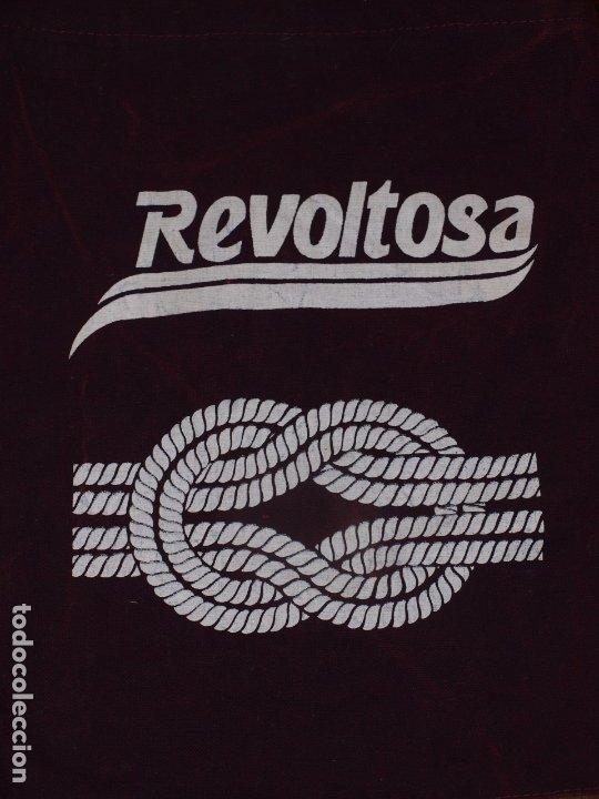 Coleccionismo de Coca-Cola y Pepsi: BOLSA BANDOLERA GASEOSA REVOLTOSA. TELA VAQUERA 35 X 30 CM APROX MAS CINTA COLGAR. VER FOTOS Y DESCR - Foto 3 - 176487867