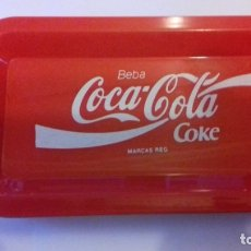 Coleccionismo de Coca-Cola y Pepsi: LOTE DE BANDEJITAS PARA APERITIVOS DE COCA-COLA. Lote 176780980