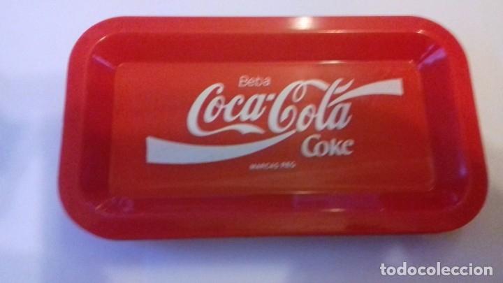 Coleccionismo de Coca-Cola y Pepsi: Lote de bandejitas para aperitivos de Coca-Cola - Foto 3 - 176780980