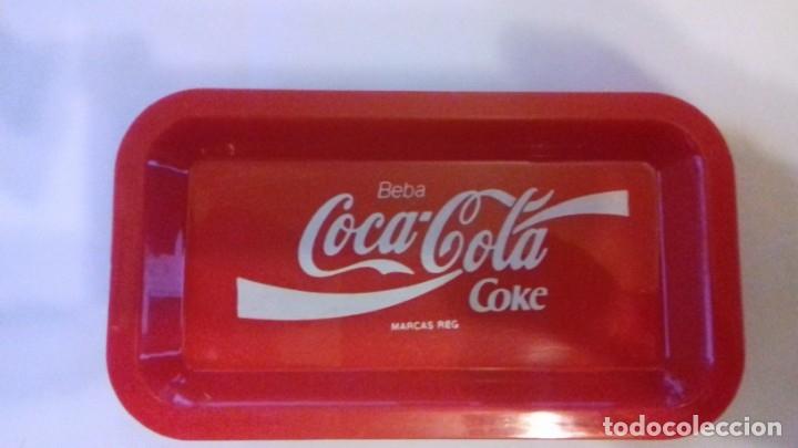 Coleccionismo de Coca-Cola y Pepsi: Lote de bandejitas para aperitivos de Coca-Cola - Foto 4 - 176780980