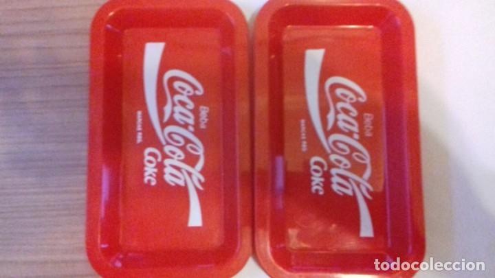 Coleccionismo de Coca-Cola y Pepsi: Lote de bandejitas para aperitivos de Coca-Cola - Foto 8 - 176780980