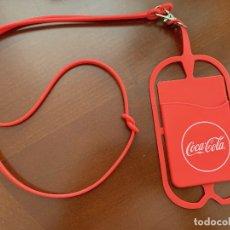 Coleccionismo de Coca-Cola y Pepsi: FUNDA LANYARD PARA MOVIL. Lote 176809369