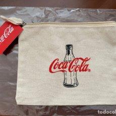Coleccionismo de Coca-Cola y Pepsi: NECESER COCA COLA. ALGODÓN. Lote 176809714