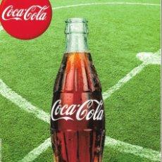 Coleccionismo de Coca-Cola y Pepsi: CUADERNO Y JUEGO FUTBOL-CHAPAS DE COCA-COLA.. Lote 176856382