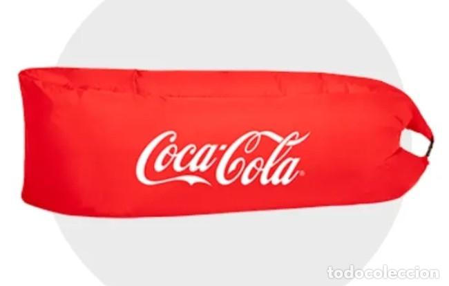 Coleccionismo de Coca-Cola y Pepsi: Laybag Coca Cola Hamaca Hinchable - Foto 2 - 177202972