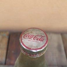Coleccionismo de Coca-Cola y Pepsi: BOTELLA COCA COLA 1 LITRO DE CRISTAL CON TAPON. Lote 177560933