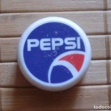 Coleccionismo de Coca-Cola y Pepsi: TAPÓN DE ROSCA PLÁSTICO PEPSI. Lote 177645875