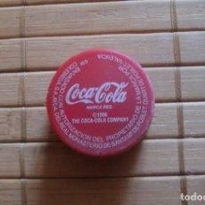 Coleccionismo de Coca-Cola y Pepsi: TAPÓN DE ROSCA PLÁSTICO COCA COLA REG. 1996 VALENCIA. Lote 177649022