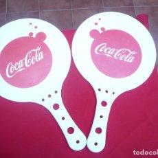 Coleccionismo de Coca-Cola y Pepsi: PALAS DE PLAYA COCA COLA. Lote 177735822