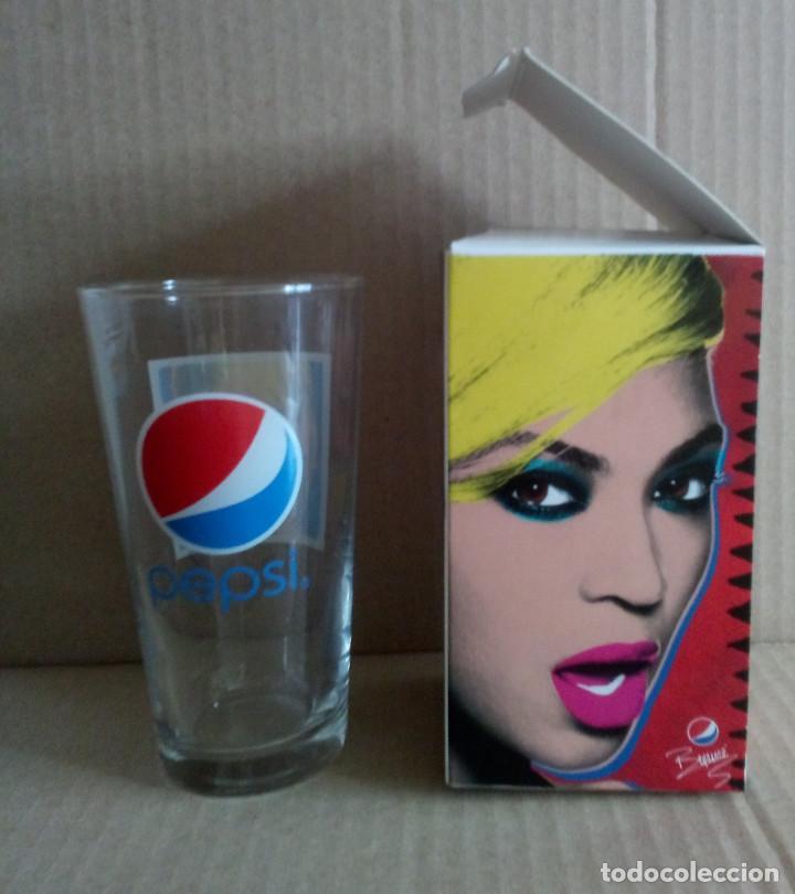 Coleccionismo de Coca-Cola y Pepsi: Vaso de Pepsi con la imagen de Beyoncé - Foto 3 - 177774358