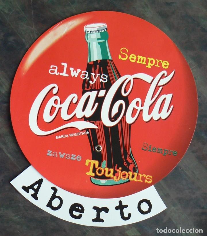 Coleccionismo de Coca-Cola y Pepsi: CARTEL COCA COLA - Foto 3 - 177877144