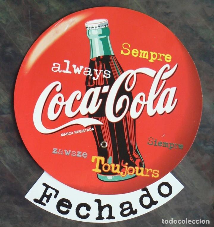 CARTEL COCA COLA (Coleccionismo - Botellas y Bebidas - Coca-Cola y Pepsi)