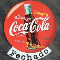 Coleccionismo de Coca-Cola y Pepsi: CARTEL COCA COLA. Lote 177877144