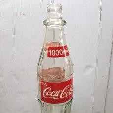 Coleccionismo de Coca-Cola y Pepsi: BOTELLA COCACOLA 1000ML DE COLECCIÓN ESCASA Y RARA . Lote 177897347